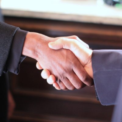 handshake deal commercial real estate